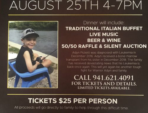 8/25/19 – Benefit for Adyn Pickett @ Carmelo's Italian Ristorante